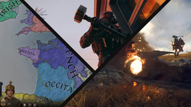 Screenshots from Crusader Kings III Siege and Generation Zero