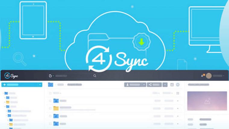4Sync cloud backup logo