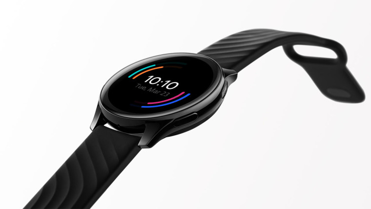 OnePlus Watch with white background