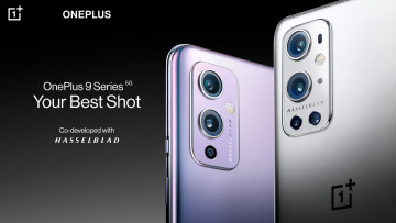 OnePlus 9 and OnePlus 9 Pro with Your Best Shot text
