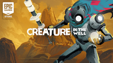 Creature in the Well is free on the Epic Games Store