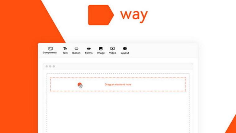 Way no-code web building logo