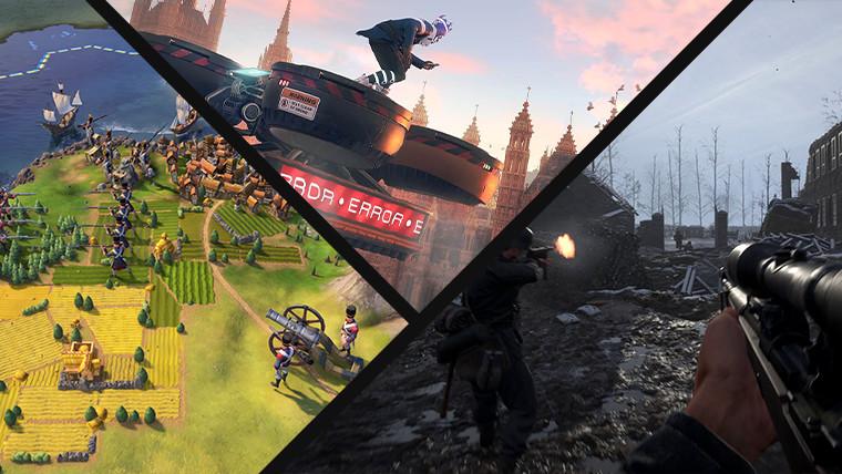 Screenshots van de gratis evenementenspellen van deze week
