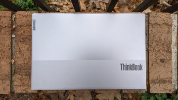 Top-down view of the Lenovo ThinkBook 14 Gen 2