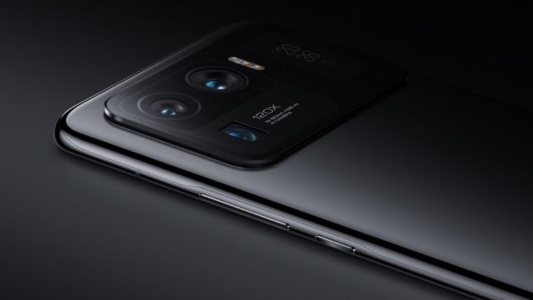 Camera setup on the Xiaomi Mi 11 Ultra in Ceramic Black