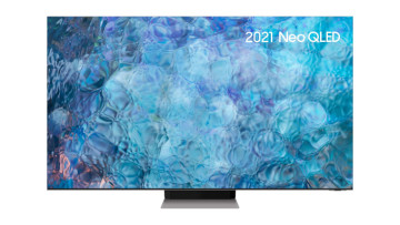 A Samsung 2021 Neo QLED TV