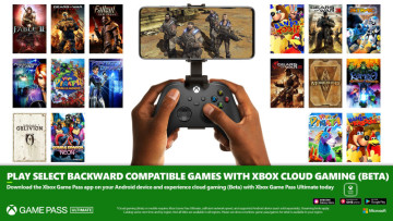 Xbox backward compatibility via cloud