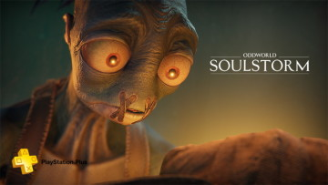 oddworld soulstorm ps plus key art