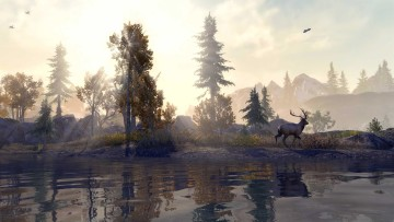elder scrolls online console enhanced game screenshot