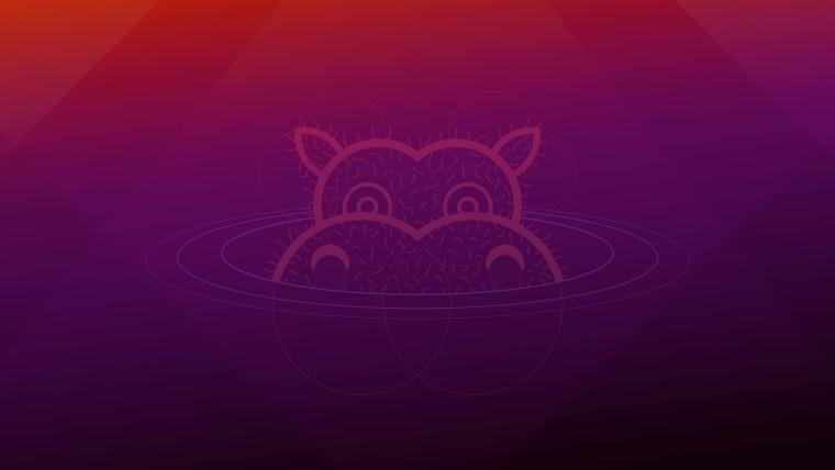 The wallpaper from Ubuntu 2104
