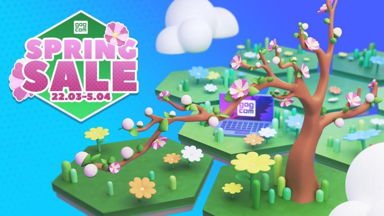 GOG Spring Sale Promo
