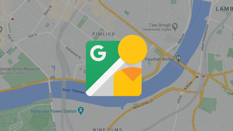 The Street View logo with Google Maps in the background