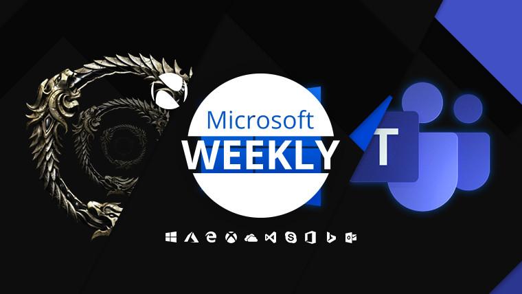 Microsoft Weekly - April 4 2021 - weekly recap