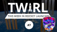 The TWIRL logo with the ISS and mission patch