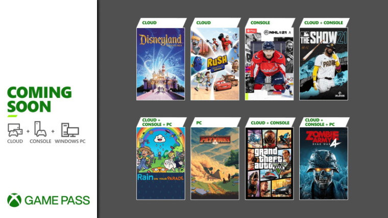 Xbox Game Pass April 2021 first wave of games