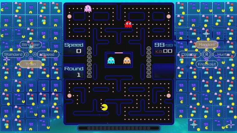 Screenshot of Pac-Man 99 on Nintendo Switch Online