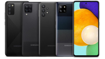 Samsung Galaxy A series family photo