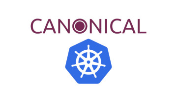 The Canonical and Kubernetes logos