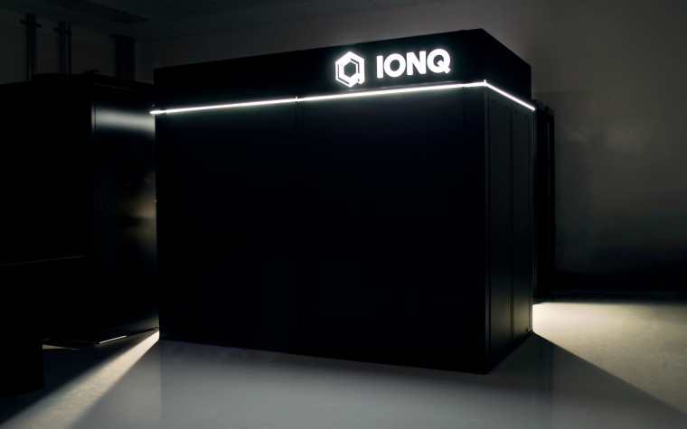 A dark picture of IonQ&039s quanatum computer