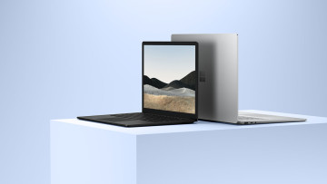 Surface Laptop 4 press images showing various colors