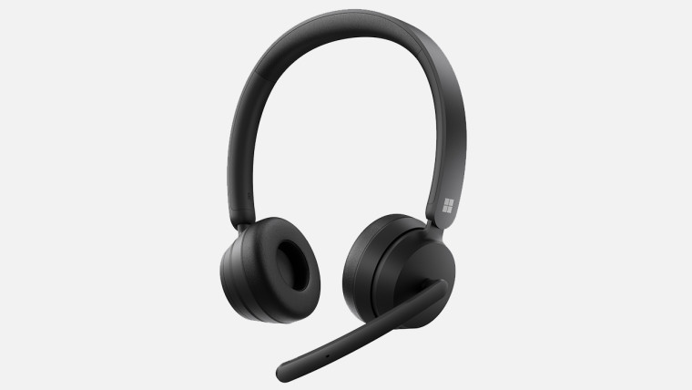 Press image of Modern Wireless Headset on white background