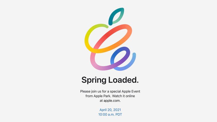 Invitation for Apple&039s Spring Loaded event
