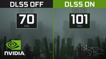 Mortal Shell Nvidia DLSS comparison