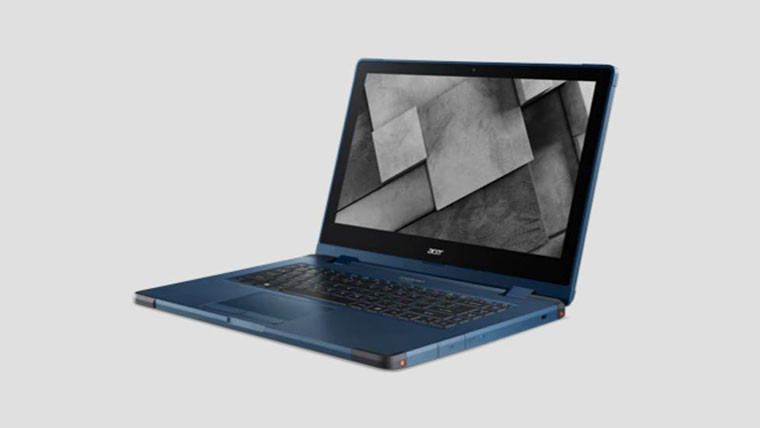 Press image of Acer ENDURO Urban N3 with gray background