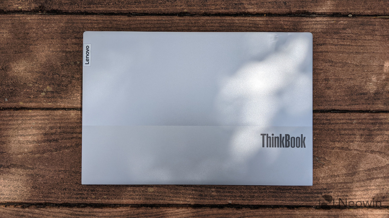 Top-down view of ThinkBook Gen 2