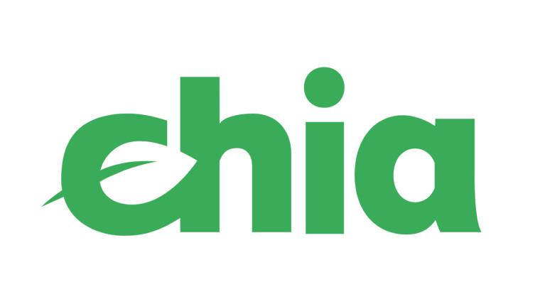 The logo of Chia blockchain
