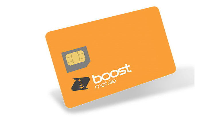 Boost mobile prepaid card
