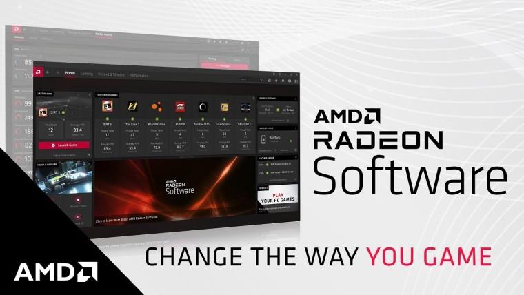 AMD Radeon Software UI