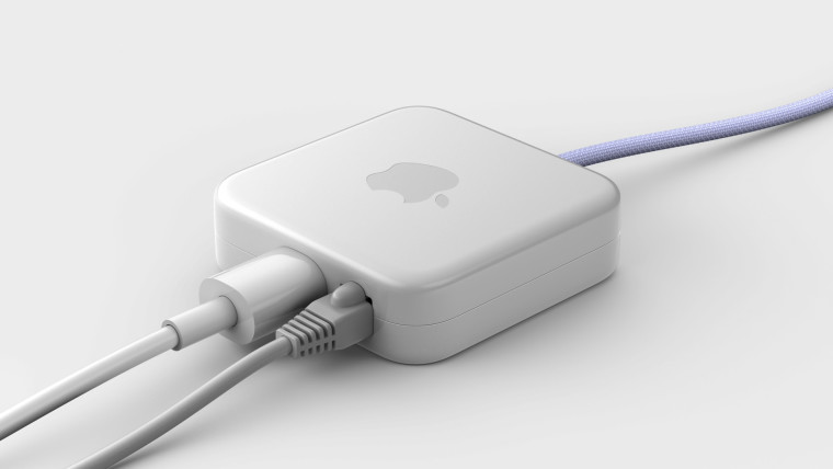 Power adapter for the iMac with Apple M1