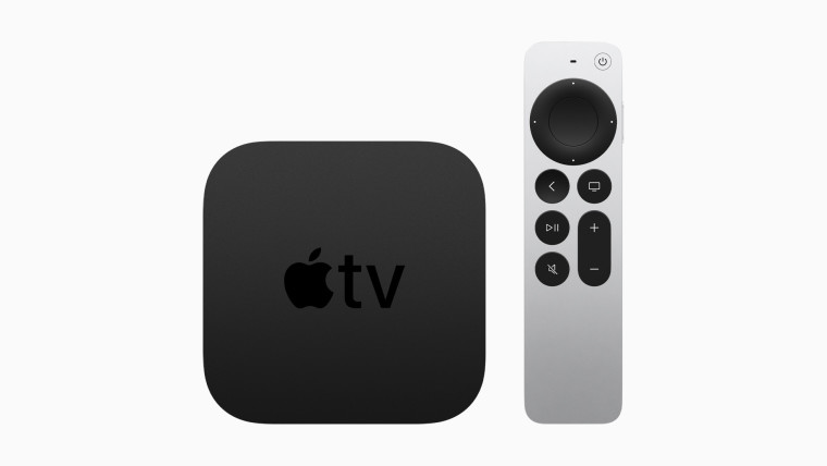 The Apple TV 4K and the new Siri Remote