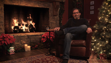 Jeff Kaplan Overwatch Yule Log
