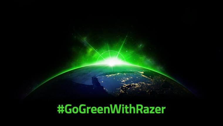 Razer GoGreenWithRazer logo