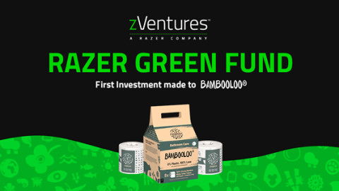 Razer Green Fund seed investment to BAMBOOLOO