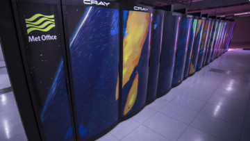 A Met Office supercomputer