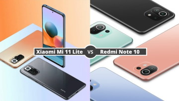 Xiaomi Mi 11 Lite vs Redmi Note 10