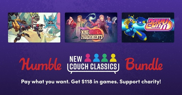 Three games of the Humble Couch Bundle