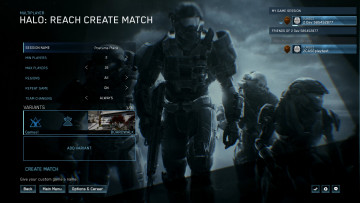 Halo MCC custom game browser