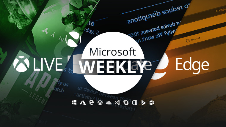 Microsoft Weekly - April 25 2021 - weekly recap