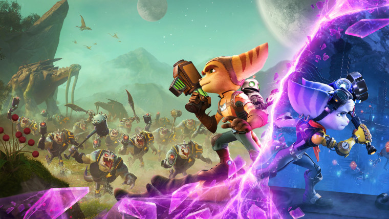 ratchet and clank rift apart characters ratchet and rivet