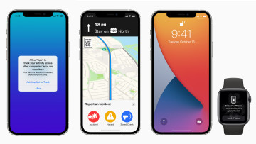 iOs 145 feature screenshots on an iPhone