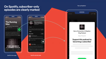 Podcast subscription service goes live on Spotify