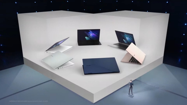 Samsung Galaxy Book Pro and Book Pro 360 product images