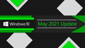 Windows 10 May 2021 Update banner