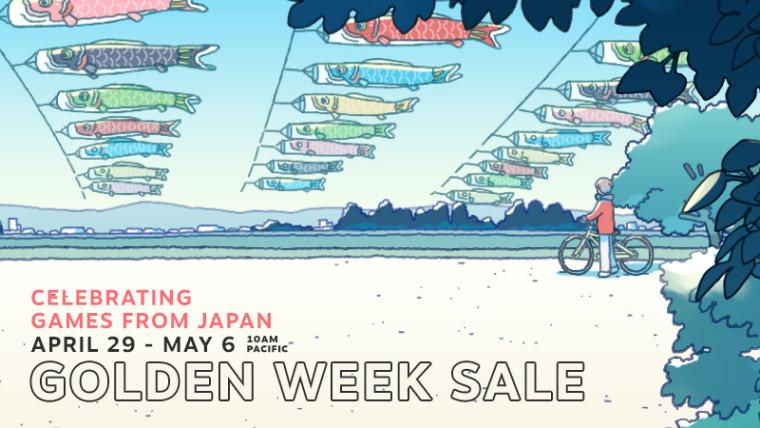 Steam Golden Week Sale promo