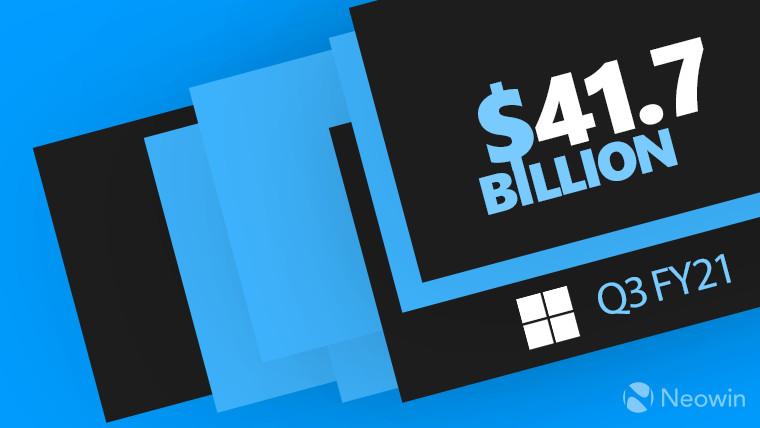 Microsoft Q3 FY2021 earnings