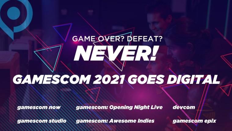 gamescom 2021 all digital event promo